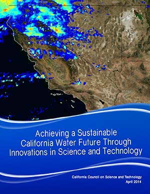 Achieving a Sustainable California Water Future Cover