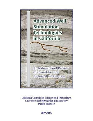 Advanced Well Stimulation Technologies in California Project