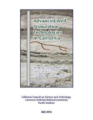 Advanced Well Stimulation Technologies in California