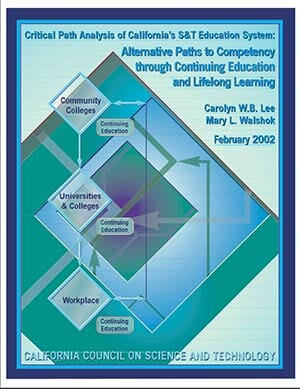 Alternative Paths to Competency through Continuing Education Report Cover