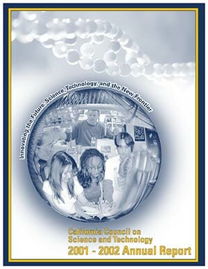 CCST Annual Report 2001-2002 Cover