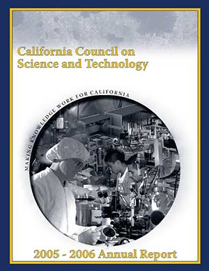 CCST Annual Report 2005-2006 Cover