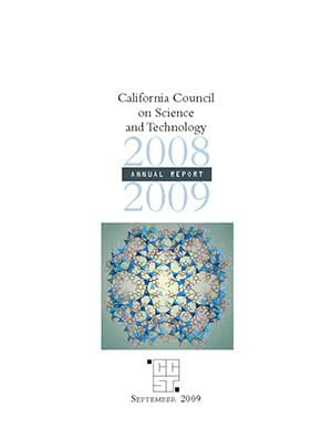 CCST Annual Report 2008-2009 Cover