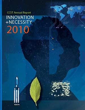 CCST Annual Report 2009-2010 Cover