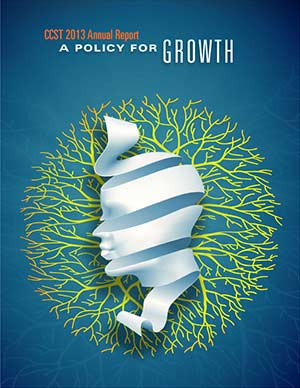 CCST Annual Report 2012-2013 A Policy for Growth Cover