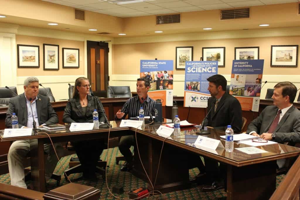 Photo of the CCST Expert Briefings panelists.