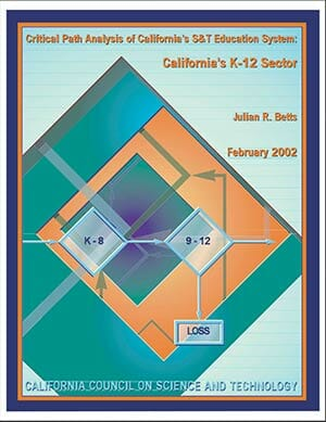 California's K-12 Sector Report Cover