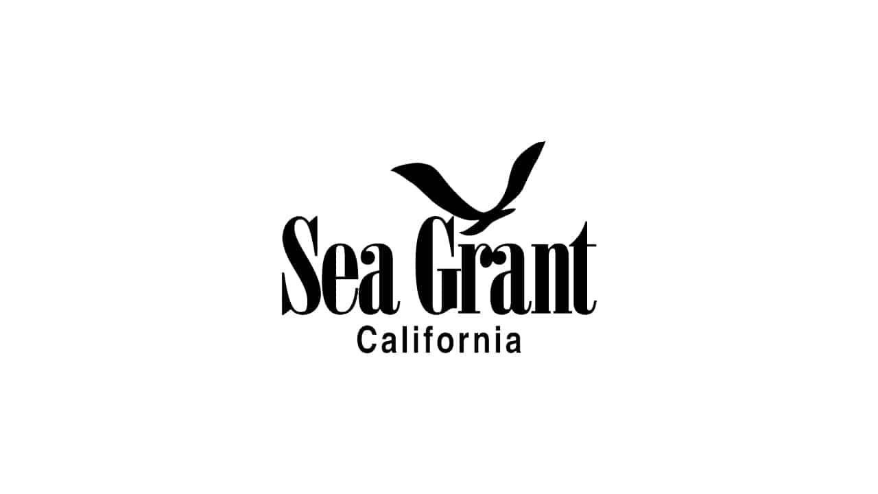 California Sea Grant Logo on white background