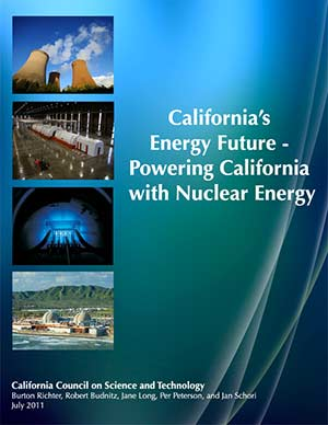 California's Energy Future - Powering California with Nuclear Energy Cover
