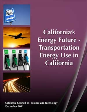 California's Energy Future Transportation Cover
