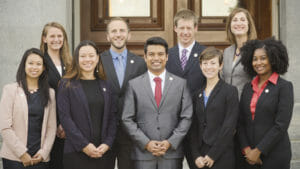 The 2017 CCST Science & Technology Policy Fellows.
