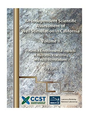An Independent Scientific Assessment of Well Stimulation in California, Volume 2