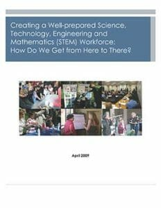 Creating a Well-Prepared STEM Workforce Cover