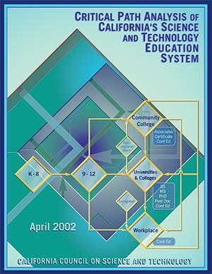 Critical Path Analysis of California's S&T Education System Report Cover