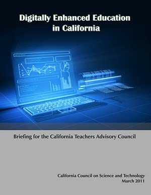 Digitally Enhanced Education in California Briefing Paper Cover