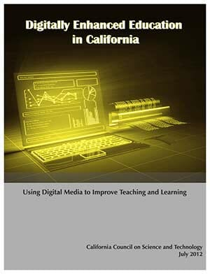 Digitally Enhanced Education in California CalTAC Workshop Cover