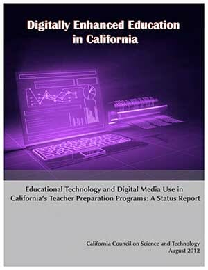 Digitally Enhanced Education in California Teacher Preparation Cover
