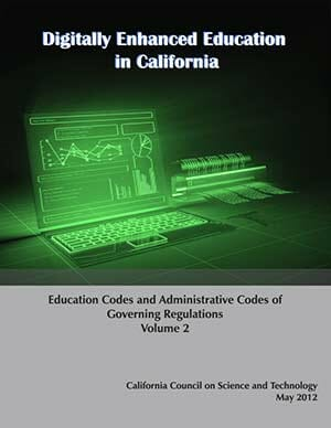 Digitally Enhanced Education in California Volume 2 Cover