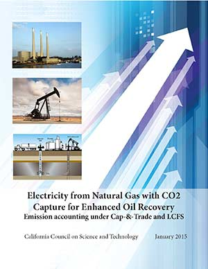 Electricity from Natural Gas with CO2 Capture for Enhanced Oil Recovery Cover