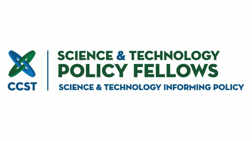 Logo of the CCST Science & Technology Policy Fellows program