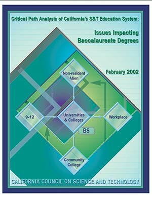 Issues Impacting Baccalaureate Degrees Report Cover