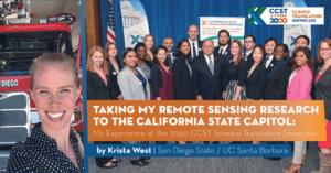 Krista West: My Experience at the 2020 CCST Science Translators Showcase