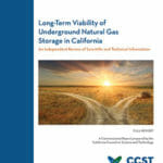 Long-Term Viability of Underground Natural Gas Storage in California: An Independent Review of Scientific and Technical Information