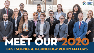 Meet Our 2020 CCST Science Fellows