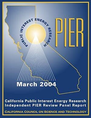 PIER 2004 Interim Report Cover