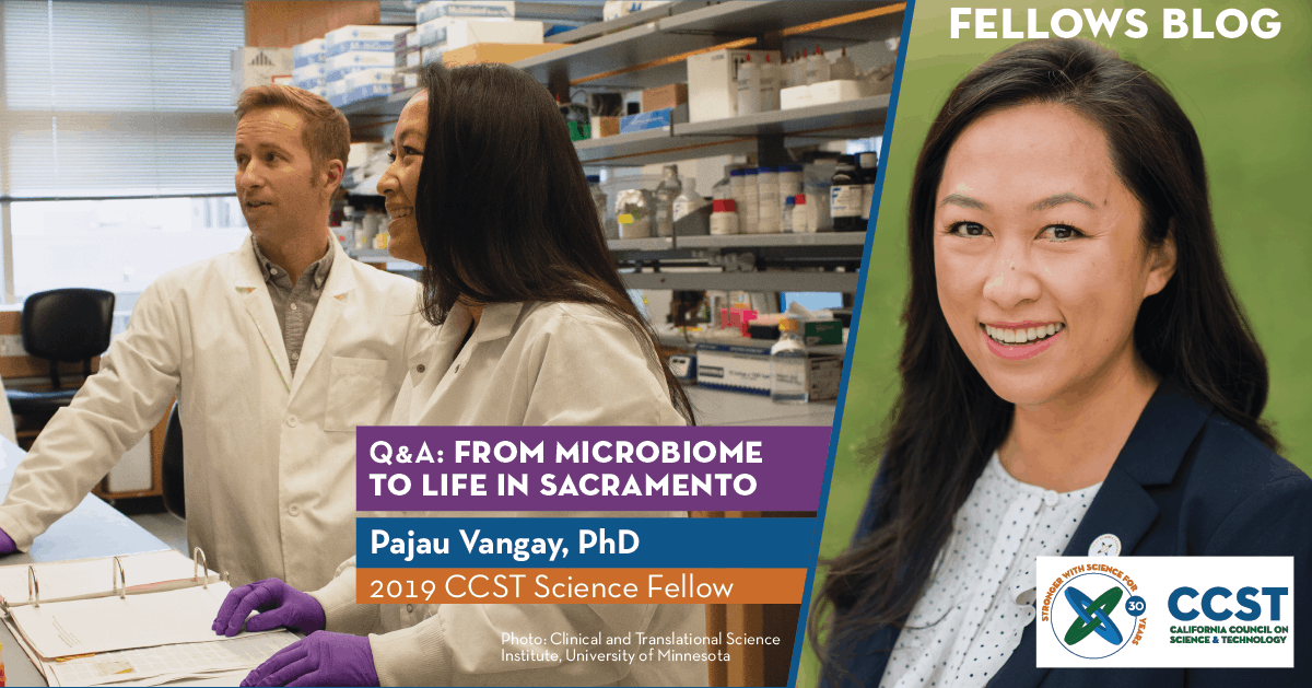 Q&A: From Microbiome to Life in Sacramento with Pajau Vangay, PhD (2019)