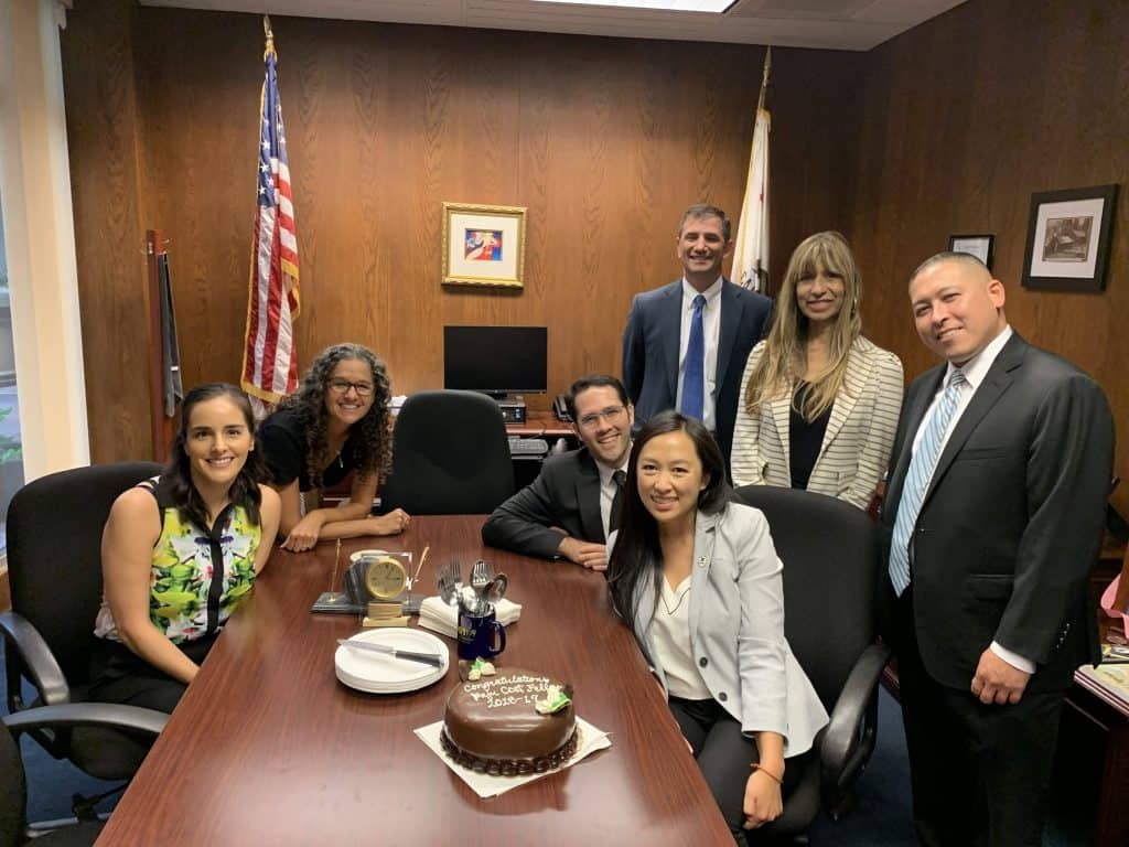 Pajau with Assemblymember Quirk's office.