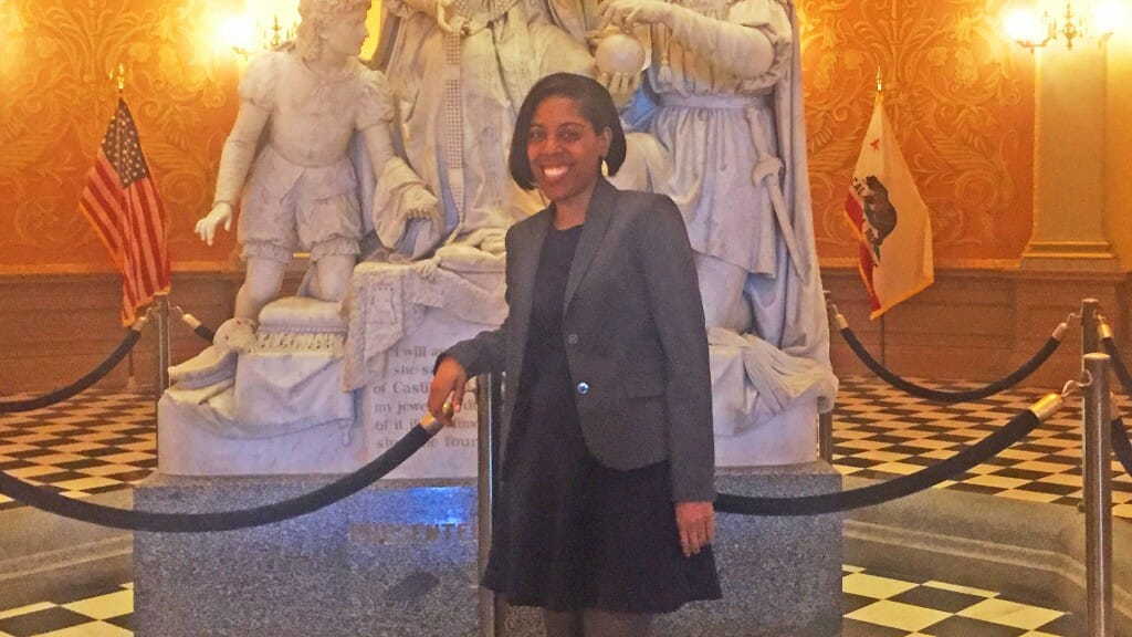 CCST Science Fellow Renita Polk is finding her way around the California State Capitol, after life in Maryland and a career in genetic research.