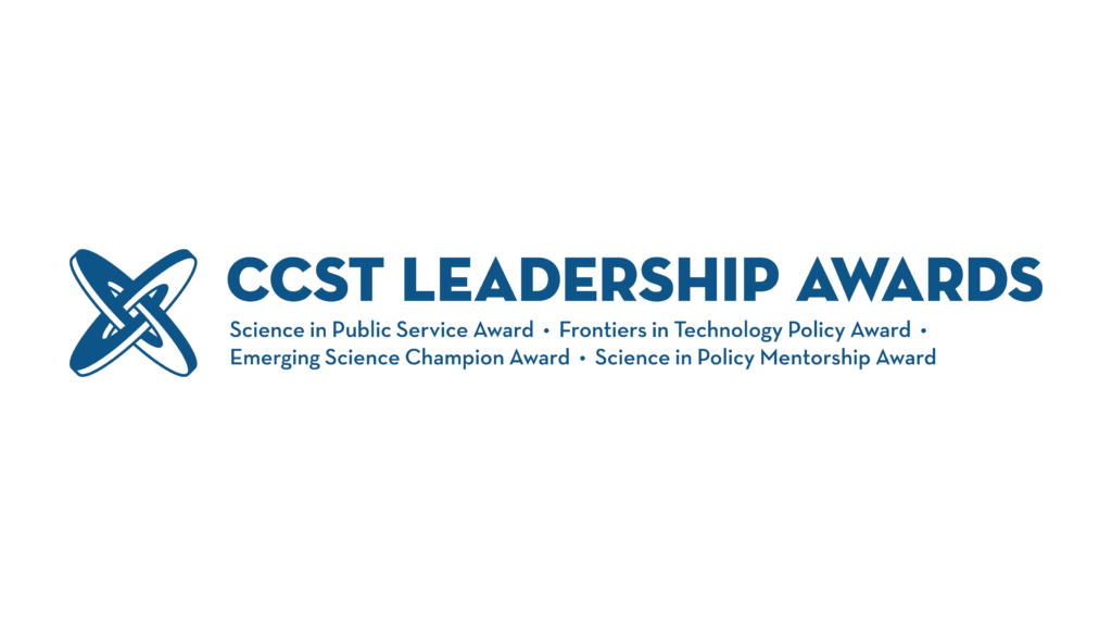 CCST Leadership awards during science and technology week