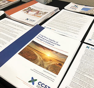 Stacks of CCST Reports