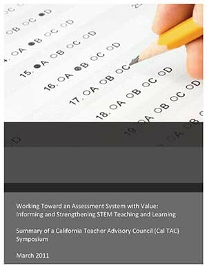 Working Toward an Assessment System with Value: Informing and Strengthening STEM Teaching and Learning Cover