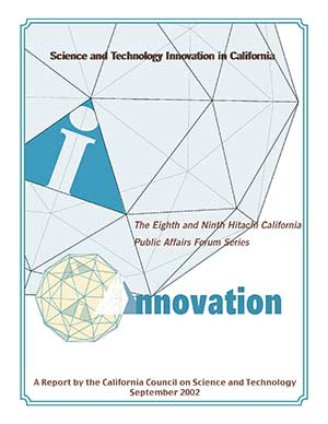 Science and Technology Innovation in California Report Cover
